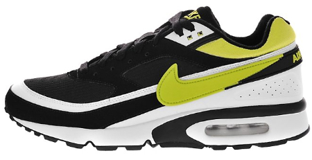reputable site 8cae3 f17f7 Nike Air Classic BW - Black   Yellow - White