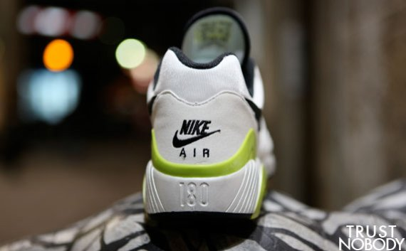 Nike Air 180 - White / Black - Cyber Yellow