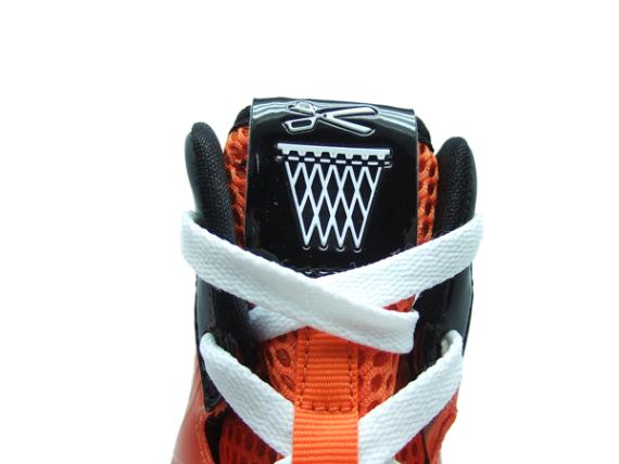 "Nike Air Max Hyperize ""Final Four"" - Orange / Black - White"
