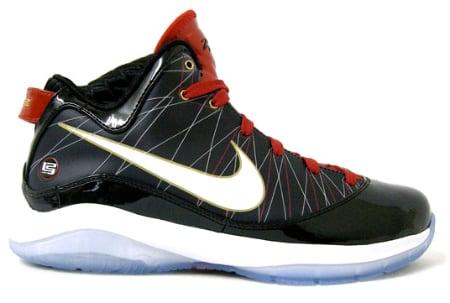 4d8456987398ba Nike Air Max LeBron VII (7) P.S. - Black   Red - Gold