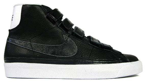 sale retailer 34e91 e2b68 Nike Blazer AC High - Black / White | SneakerFiles