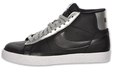 Nike Blazer High - Black / Silver - White