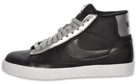 the latest f6866 2030c Nike Blazer High - Black   Silver - White