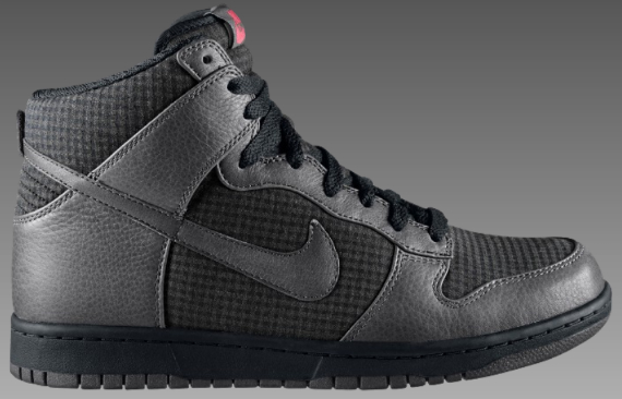 Nike Dunk High Premium - Black / Midnight Fog - Aster Pink