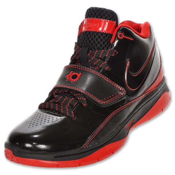 Nike KD II (2) - Black / Red