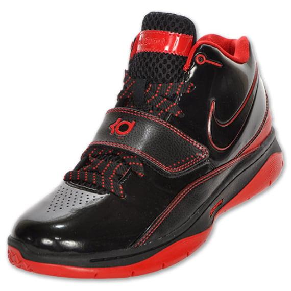 Nike KD II (2) - Black / Red