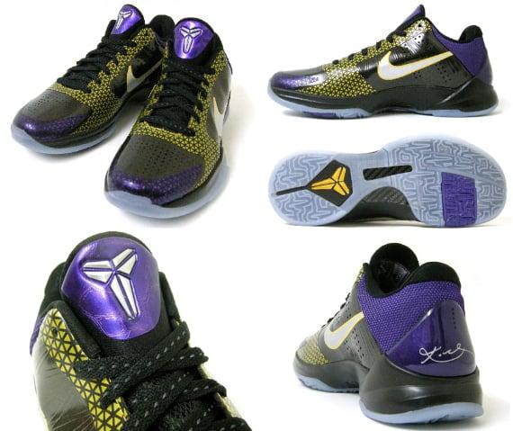 new concept c28df ef6dd Nike Zoom Kobe V (5) - POP (Playoff Pack) | SneakerFiles
