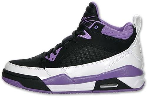 854279f2b96e Air Jordan Flight 9 (GS) - Black Violet-White