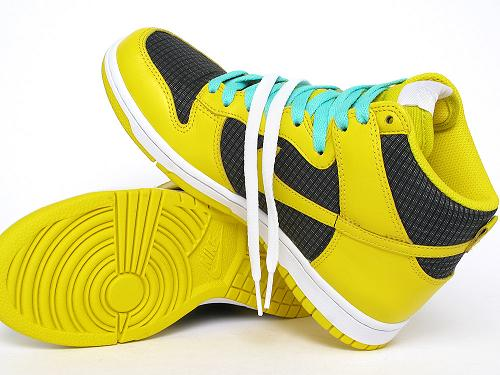 NikeDunkYellowMint1