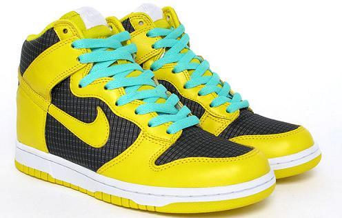 NikeDunkYellowMint5