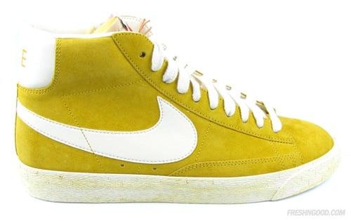 quality design 6693a d48b6 Nike Blazer High Vintage Yellow/White | SneakerFiles