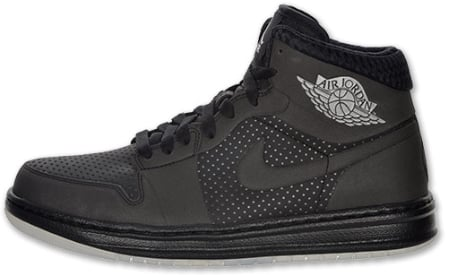 Air Jordan Alpha I (1) - Black / Metallic Silver - Now Available