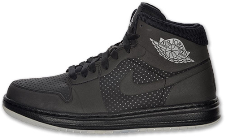 Air Jordan Alpha I (1) - Black / Metallic Silver - Now Available