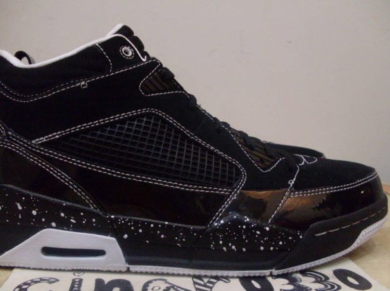 "Air Jordan Flight 9 ""Oreo"" Sample – Black / White"