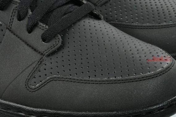 Air Jordan Alpha I (1) - Black / Black - Metallic Silver