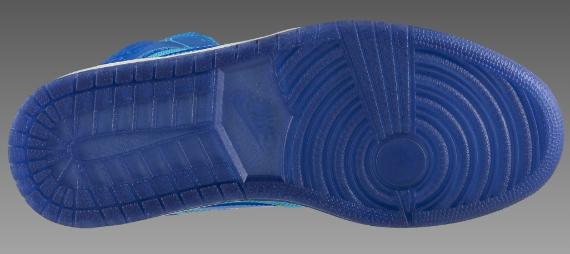 Air Jordan I (1) Phat - Marine Blue / Medium Blue - White