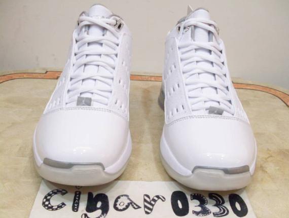 Air Jordan ONE6ONE7 Sample - White / Metallic Silver