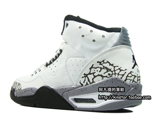 Air Jordan Rare Air - White / Black - Cement