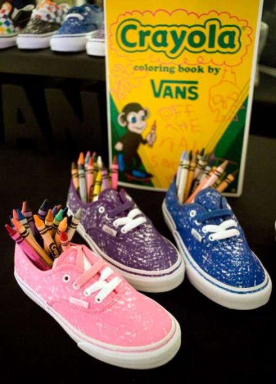 Crayola x Vans Pack - Fall 2010