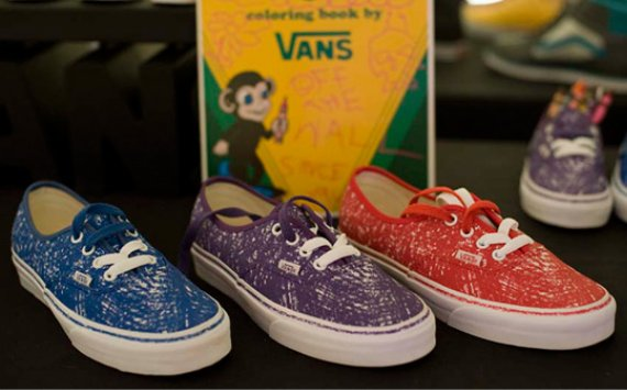 Crayola x Vans Pack - Fall 2010