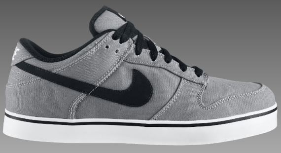 Nike 6.0 Dunk - Medium Grey / Black - White