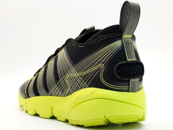 Nike Air Footscape Freemotion - Black / Neon Yellow