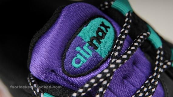 "Nike Air Max 95 ""Grape"" - Grey / Purple - Charcoal"