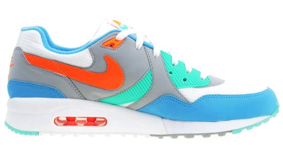 Nike Air Max Light - White / Blue - Mint - Orange