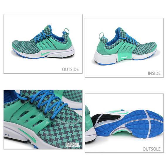 Nike Air Presto - Houndstooth & Pinstripe