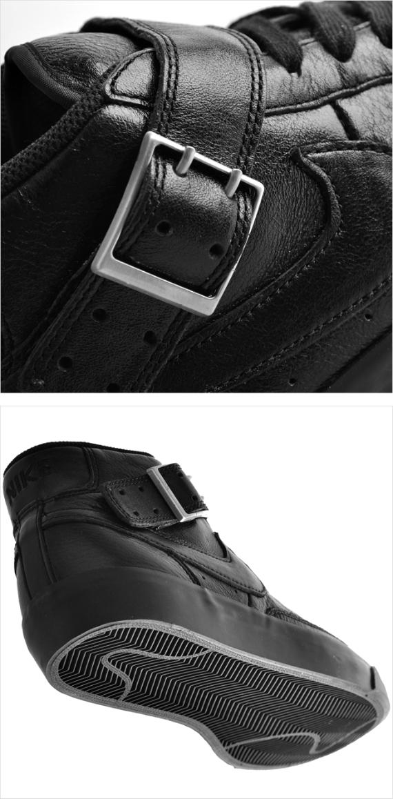 "Nike Blazer Mid ""Belt"" - Black / Black"