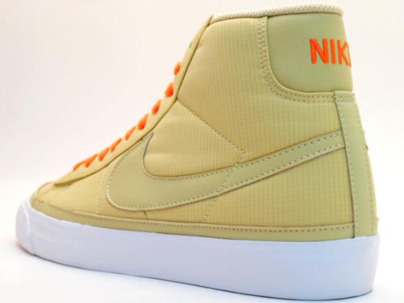 Nike Blazer Mid ND - Beige / Orange - White