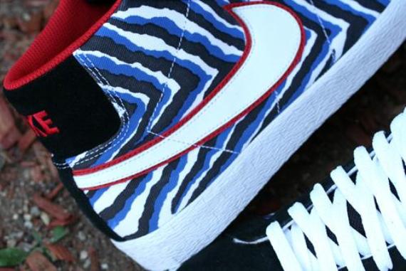 "Nike Blazer SB Premium - ""Blue Zebra"""