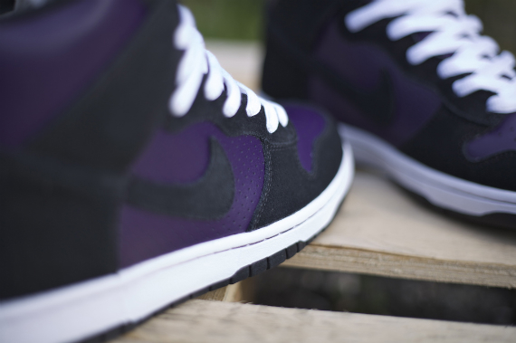 Nike Dunk SB High - Grand Purple / Black - White
