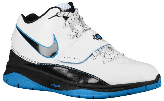 Nike KD II (2) - White / Black / Photo Blue
