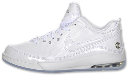 Nike LeBron VII (7) Low - White / Silver - Now Available