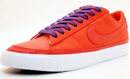 Nike Women's Blazer Low - Red / Purple - White