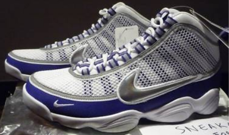 Nike Zoom Don - Silver / Royal Blue - White