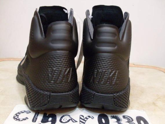 Nike Zoom Hyperfuse - Black / Black - Dark Grey