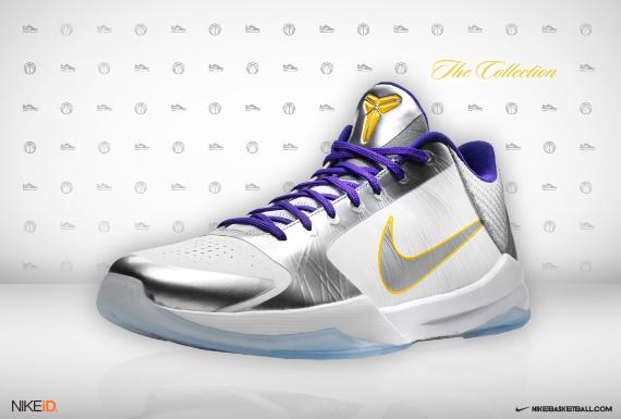 Nike Zoom Kobe V (5) iD - KidHollywood