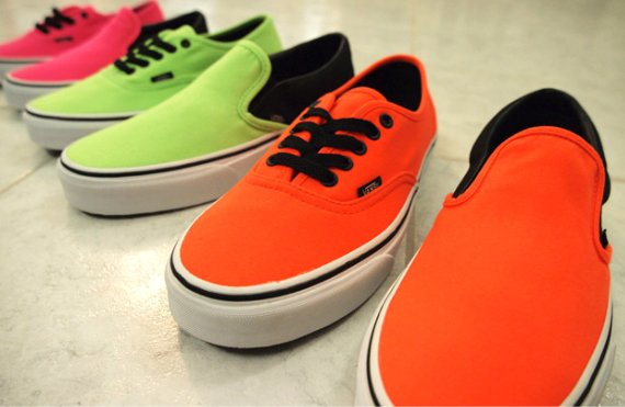Vans Slip-On & Era - Neon Pack