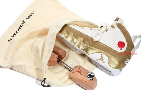 official photos c1167 ce4d7 AJIXBIN23NewImages1. AJIXBIN23NewImages1. Last week we reported that the Air  Jordan IX Retro Premio BIN 23 in a white metallic gold ...