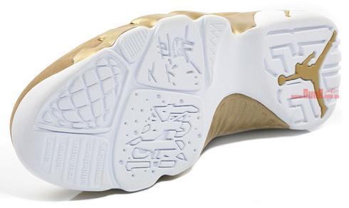 uk availability 9f2dc c7439 Air Jordan IX Retro Premio BIN 23 White Metallic Gold - New Images    SneakerFiles