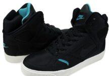 Nike Auto Flight High - Obsidian / Marina Blue - White-1