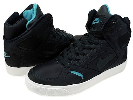 Nike Auto Flight High - Obsidian / Marina Blue - White-1