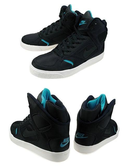 Nike Auto Flight High - Obsidian : Marina Blue - White