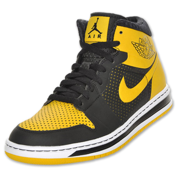 Air Jordan Alpha I (1) - Black / Varsity Maize - White