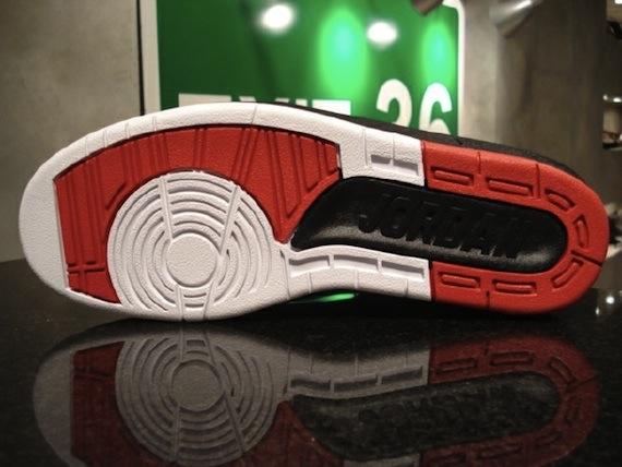 Detailed Look: Air Jordan II (2) - White / Black - Varsity Red