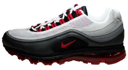 Nike Air Max 24-7 - Black / Varsity Red - White
