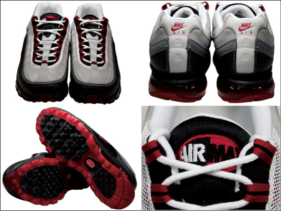 Nike Air Max 24-7 - Black / Varsity Red - White