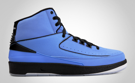 Air Jordan 2 University Blue/Black-White-1